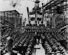 WILMINGTON   Active-duty sailors and Marines from Camp Lejeune will help celebrate the 75th anniversary of the USS North Carolina's commissioning by