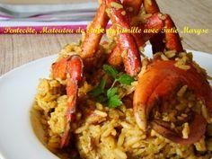 Matété (ou Matoutou en Martinique) de crabes Plat spécial #Fêtes de #Pâques aux #Antilles