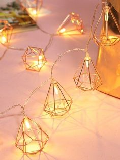 diy Geometric Bulb String Light Buying A Luxury Watch Seven Things You Should Consider Before Lit Wallpaper, Pink Wallpaper Iphone, Diamond Wallpaper, String Lights In The Bedroom, String Lights Outdoor, Loft Apartment Decorating, Cute Room Decor, Decoration Piece, Room Accessories