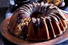 Tvarohová bábovka | Apetitonline.cz Cheesecakes, Doughnut, Nutella, Food And Drink, Menu, Baking, Breakfast, Sweet, Recipes