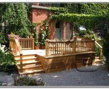 Deck Patio Designs Small Yard