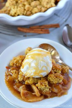 This gluten free caramel apple crisp is the perfect dessert for that chilly fall weather. It's full of warm spices and caramel. Make sure to serve it with some vanilla ice cream and an extra drizzle of caramel sauce. Once upon a time, I was obsessed with Ina Garten. I loved all her recipes, I...