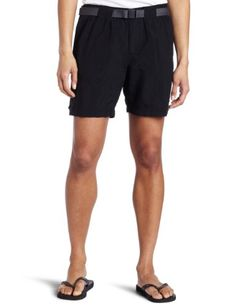 Columbia Women's Sandy River Cargo Short Shorts, -black, Mx6. For product & price info go to:  https://all4hiking.com/products/columbia-womens-sandy-river-cargo-short-shorts-black-mx6/