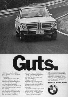 Vintage BMW ad