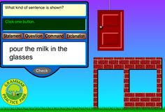 Interactive Education: Sentence Clubhouse (Types of Sentences) Teaching Writing, Writing Activities, Teaching Tools, Teaching Ideas, Education And Literacy, Education English, Music Education, Health Education, Physical Education