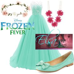 Frozen Fever Elsa Outfit! Created by Shawn Spencer.