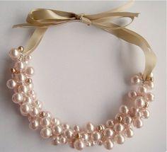 DIY Vintage Perlenkette