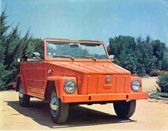 The VW Thing...always tried to talk my dad into finding me one of these instead of the Bug....never happened.