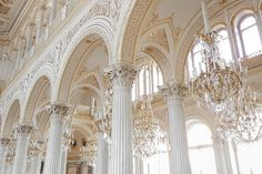 The Pavilion Hall of the Small Hermitage, Saint Petersburg - Russia The Pavilion Hall of the Small Hermitage is one of the finest rooms in the Palace complex. Combining Renaissance, Gothic and. Baroque Architecture, Classic Architecture, Beautiful Architecture, Beautiful Buildings, Beautiful Places, Gold Aesthetic, Angel Aesthetic, Aesthetic Vintage, Aesthetic Photo