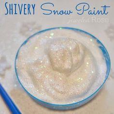 .glue and shave cream