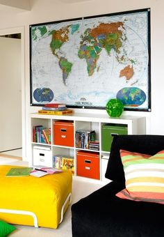 map, playroom, #design, #thehiddenlist.