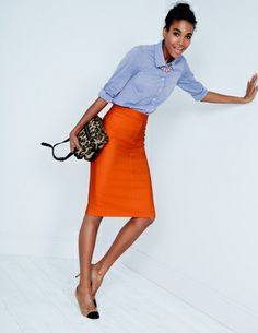 I've spotted this @BodenClothing Chic Wool Pencil Skirt