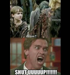 The Walking Dead funny meme.i really was able to kill that stupid kid that moment Walking Dead Funny, Walking Dead Zombies, Walking Dead Season, Fear The Walking Dead, Memes Humor, Twd Memes, Funny Memes, Funny Shit, Funny Stuff