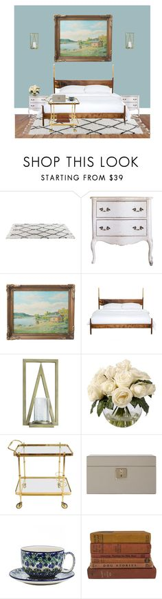"""""""bonus: Mariana's room at the palace"""" by catsaysmeow ❤ liked on Polyvore featuring interior, interiors, interior design, home, home decor, interior decorating, WALL, Frontgate, Smythson and Bunzlau Castle"""