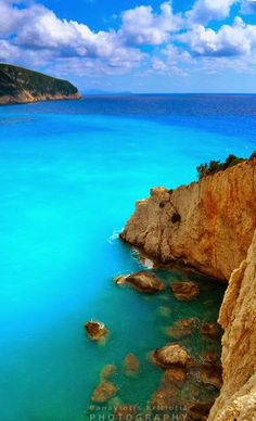 Porto Katsiki, Lefkada, Greece - I've actually been here but would love to go back
