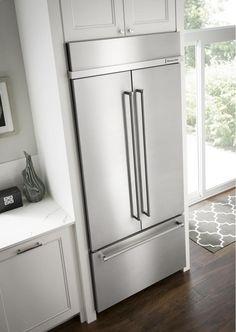 12 best built in refrigerator images kitchens kitchen dining rh pinterest com