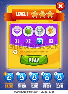 Find Game Ui Level Setup Screen Vector stock images in HD and millions of other royalty-free stock photos, illustrations and vectors in the Shutterstock collection. Ui Buttons, Vector Game, Button Game, Game Ui Design, Game Interface, Game Resources, Web Banner, Mobile Game, Lorem Ipsum