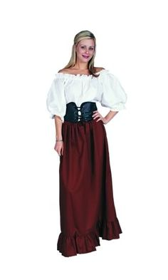 italian peasant dress | Details about RENAISSANCE PEASANT WOMAN LADY PIRATE WENCH BAR MAID ...