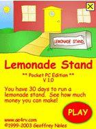 lemonade stand. run your own lemonade stand--elementary business math