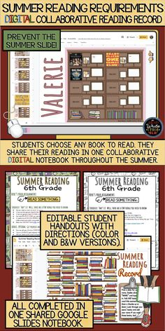 English Language, Language Arts, Reading Record, 6th Grade Reading, Classroom Routines, Summer Slide, 21st Century Learning, Middle School English, Middle School Teachers