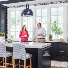 """GRETCHEN BLACK on Instagram: """"Wishing this handsome husband of mine the happiest of birthdays today! I'm not sure what we are laughing at in this photo, but I'm so…"""" Craftsman Style Homes, Painting Wallpaper, Birthdays, Handsome, Husband, House Styles, Table, Furniture, Instagram"""
