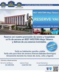 Disfruta una estancia inolvidable de fin de semana en Tabasco, tarifa especial de $600.00