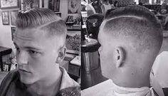 Resultado de imagen para cortes de cabello para hombre militar