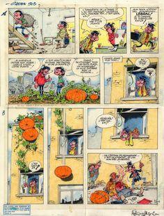 #gaston #lagaffe #croquis #dessin #bd #franquin