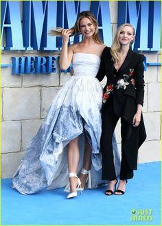 Mamma Mia, Lily James, Amanda Seyfried, Matt Smith Girlfriend, Matt Smith The Crown, Does Your Mother Know, Matt Smith Doctor Who, Jeremy Irvine, Michelle Williams