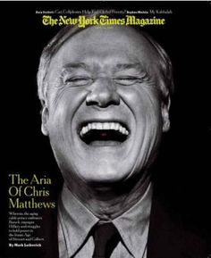 "Creeper----> Chris Matthews is supposed to be a journalist but does not hide his man crush on Obama or refrain from spewing hatred on conservative women.   ""tingles"" is disgusting"