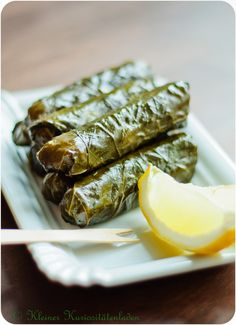 """Dolma"" means in Turkish ""filled up with something"". Love you dolma Armenian Recipes, Turkish Recipes, Greek Recipes, Healthy Eating Tips, Healthy Recipes, Stuffed Grape Leaves, Gula, Shawarma, Middle Eastern Recipes"