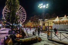 Julemagi i Oslo – Med koffert og kamera Oslo, Ferris Wheel, Fair Grounds, Travel, Viajes, Trips, Traveling, Tourism, Big Wheel
