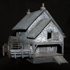 Galleries - ScaleCast Scale Models, Galleries, Scenery, Cabin, House Styles, Home Decor, Decoration Home, Landscape, Room Decor