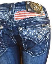 Miss Me Jeans Women's American Flag Stars Stripes Sequin Fill Boot Cut Dark Wash! My dream jeans Miss Me Jeans, All Jeans, Cute Jeans, Skinny Jeans, Country Girls Outfits, Country Girl Style, Country Fashion, Country Wear, Miss Mes