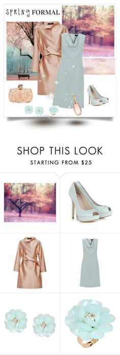 """Spring Formal"" by dezaval ❤ liked on Polyvore featuring Alexander McQueen, Paule Ka, Jaeger, Dettagli, Lumière and springformal"