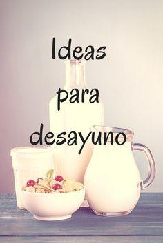 Ideas para el desayuno http://blgs.co/CaZE8R
