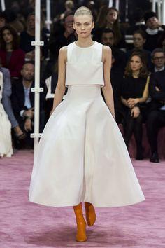 Dior - two piece wedding dress for a fashion forward bride