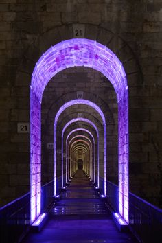 Chaumont Viaduct, France. Lighting design: Jean-François Touchard - iGuzzini illuminazione - Phot.Didier Boy de la Tour.