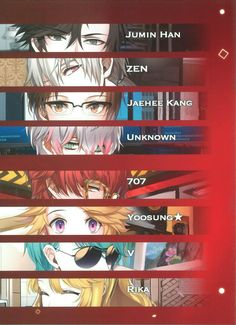 mystic messenger v | Tumblr... Why does rika have to be on there