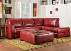 Superieur 18 Stylish Modern Red Sectional Sofas