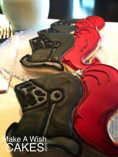 #Medieval Knights Helmet #Cookie Knights Helmet, Cake Cookies, Cake Pops, Medieval, Parties, Kids, Fiestas, Young Children, Boys
