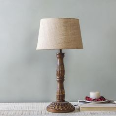 Choose from a vast range of Lighting Products like table lamps, pendant lamps, candle stands, lanterns & more. Table Lamp Design, Luxury Table Lamps, Wooden Floor Lamps, Table Lamp, Vintage Lamps, Handcrafted Table, Vintage Table Lamp, Handcrafted Lamp, Floor Lamp Design