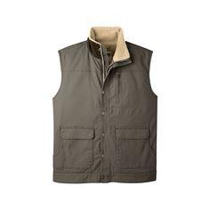 Ranch Shearling Vest for Men
