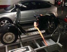 Así estaba la morena antes de restaurarla #vespa125 #vespapk125 #lambreta #iphone6 #iphone #vespa #maravilla #oferta #economica #tunning #motos #escooter #vespino #motor #maravilla #economico #oferta