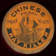 Super Punch: Vintage rat poison logo