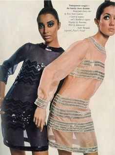DONYALE LUNA: THE WORLD`S FIRST BLACK SUPERMODEL AND THE FIRST TO GRACE THE COVER OF VOGUE (Time Magazine 1966)