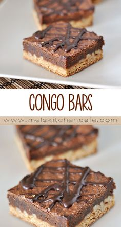 1000+ ideas about Congo Bars on Pinterest | Cookies, Chocolates and ...
