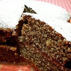 """Torta al grano saraceno.  Ricetta presa dal meraviglioso blog  """"trattoria da Martina"""""""