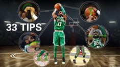 This post I will analyze Kyrie Irving's shooting form with 33 tips.  Kyrie Irving is a great basketball player, his shooting form is rational and scientific. Kyrie Irving is a Top Level NBA Shooter, in NBA nowadays, there are only two top level shooters, another player is Stephen Curry, their 95% shooting tips are conform to the Straight Shooting Force Thoery.   #33tips #Howto #jumpshot #KyrieIrving #mediumhardhand #shootingform