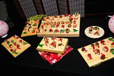 4 Ideas for Bar & Bat Mitzvah & Wedding Takeaways - Candy Sushi Station from The Event of a Lifetime - mazelmoments.com